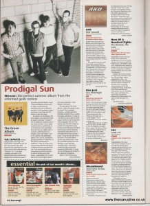 5-Kerrang #852 May 12 2001