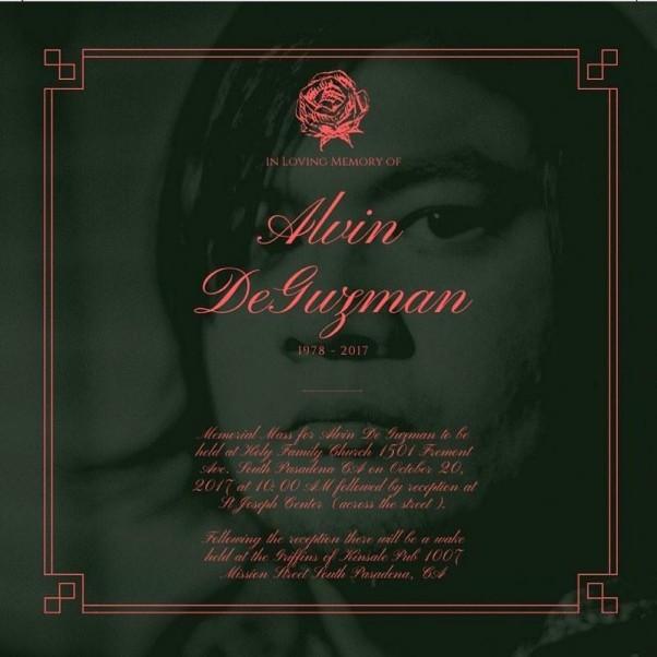 Alvin Deguzman - In Loving Memory Of